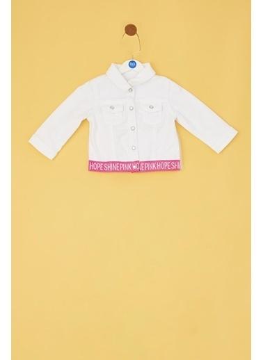 BG Baby Ceket Beyaz